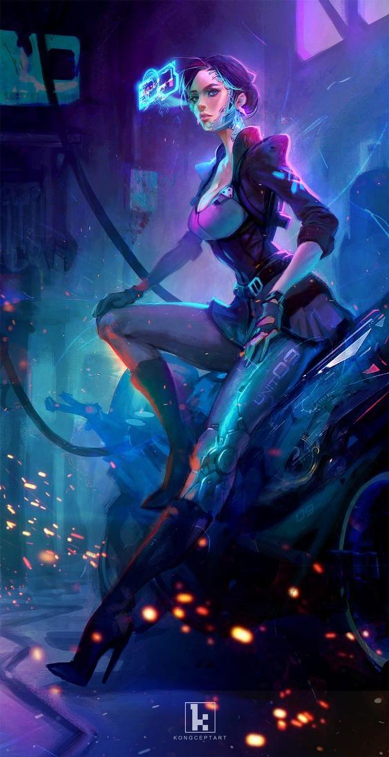 cyberpunk games caractor