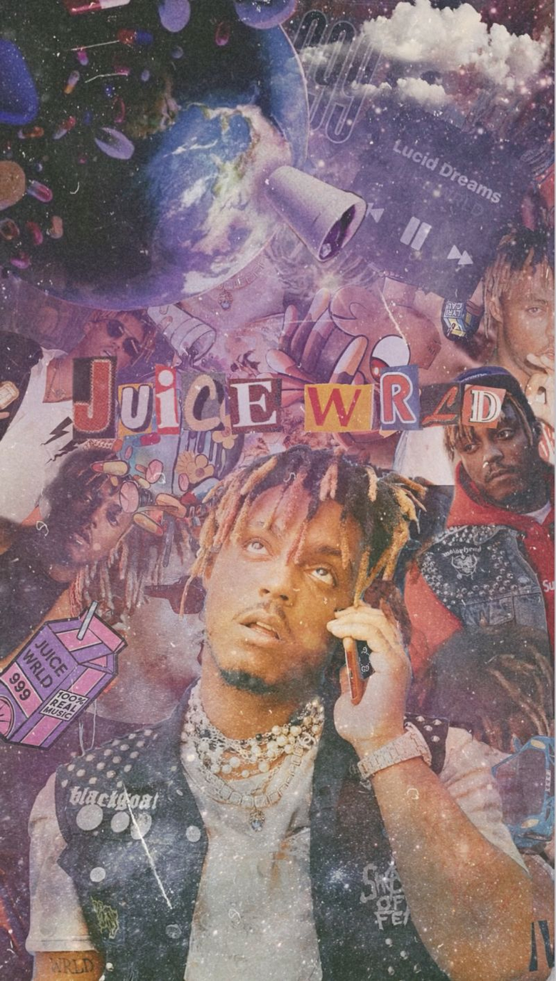 Juice WRLD phone wallpaper