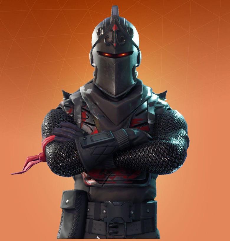black knight orange backround