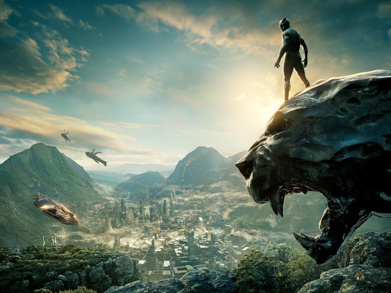 black panther is here so watch out