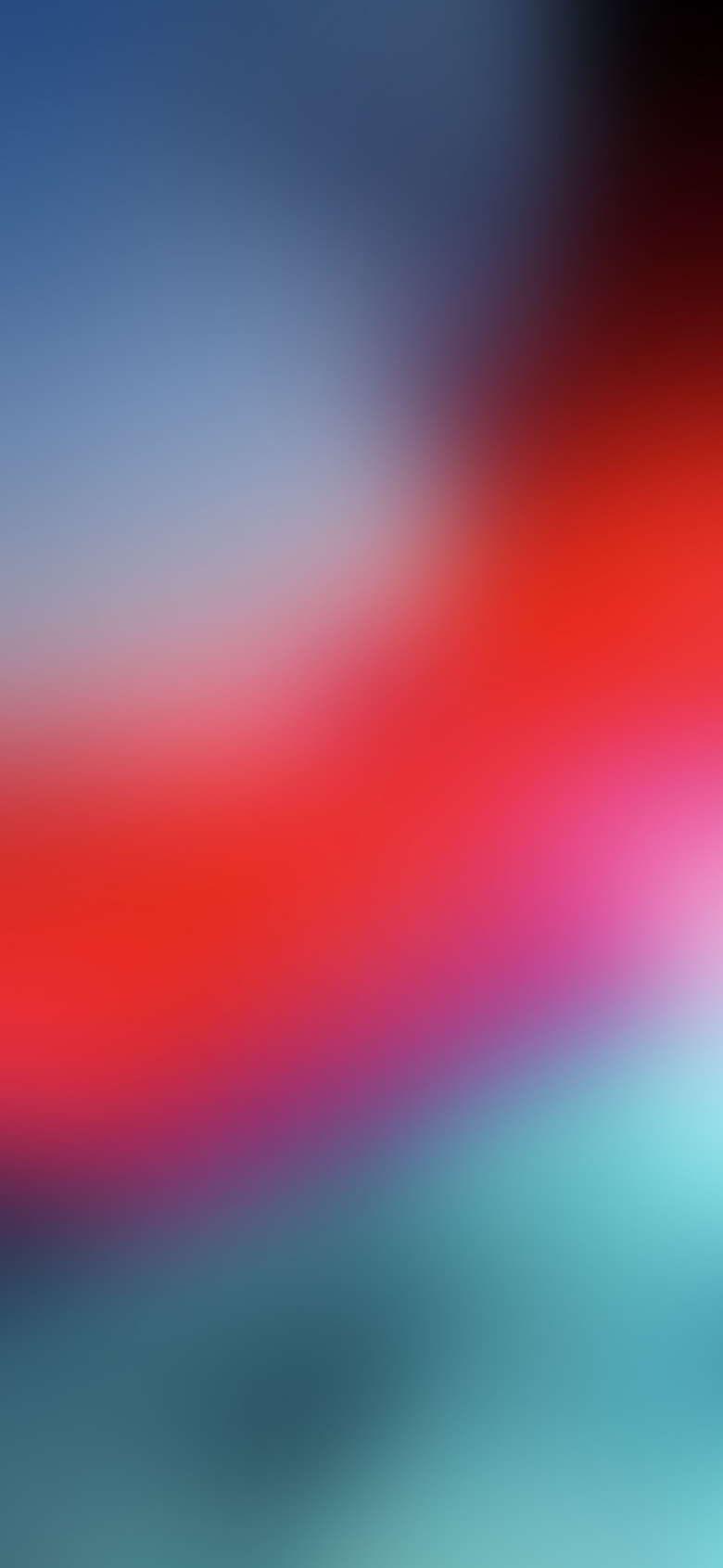 Blurred iOS 12 Stock Wallpapers