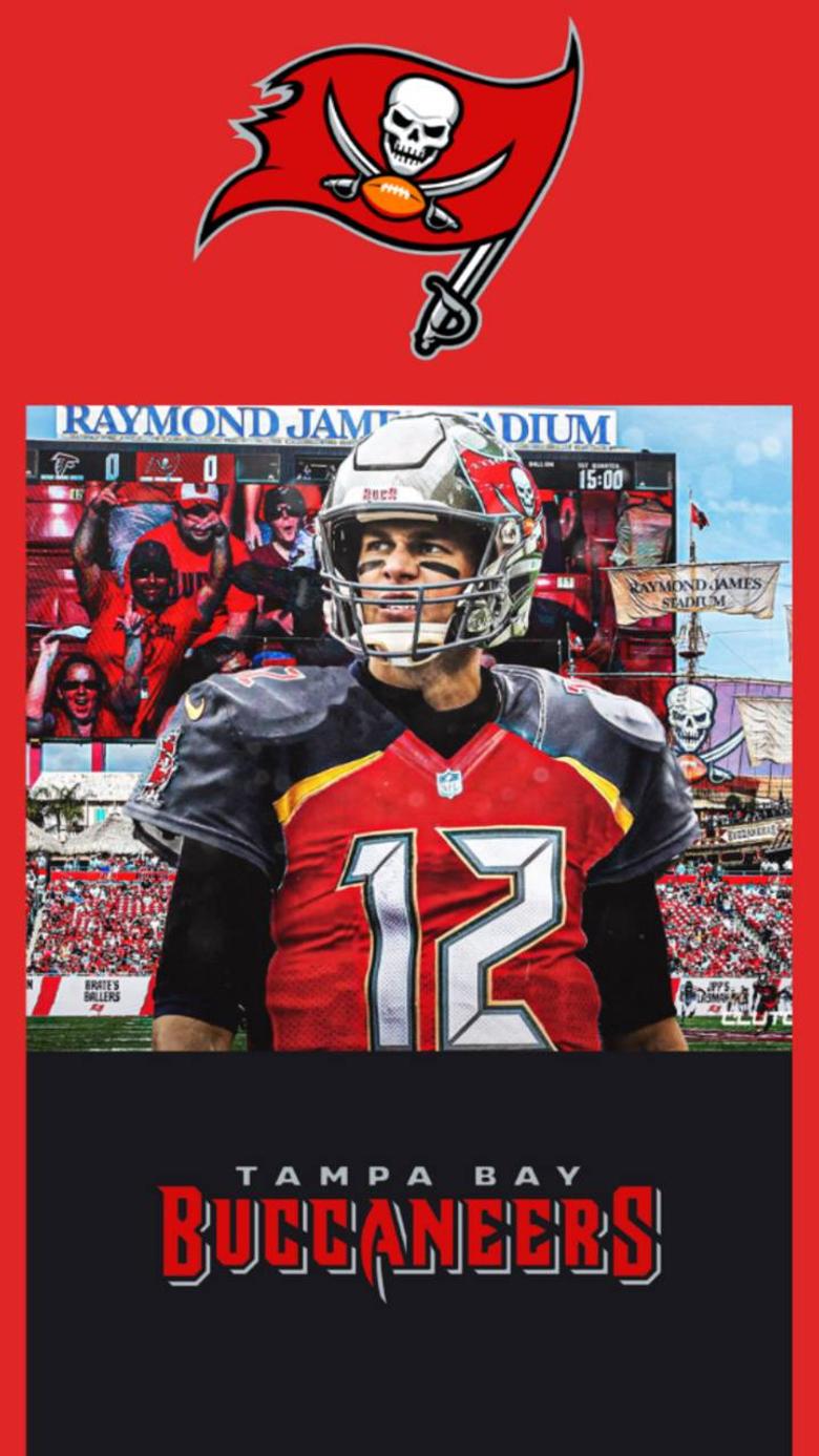 Tom Brady Buccaneers wallpapers by jimmie jam48 on IG