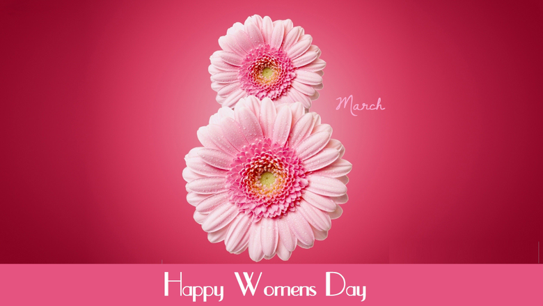 Wallpapers International Women s Day March 8 flowers pink