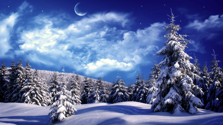 Landscape Winter Season Winter Snow Nature Wallpaper Backgrounds