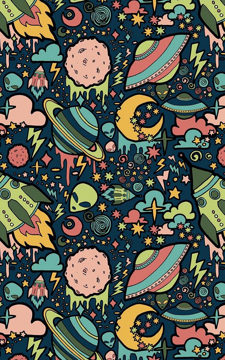 Cartoon Alien Wallpapers