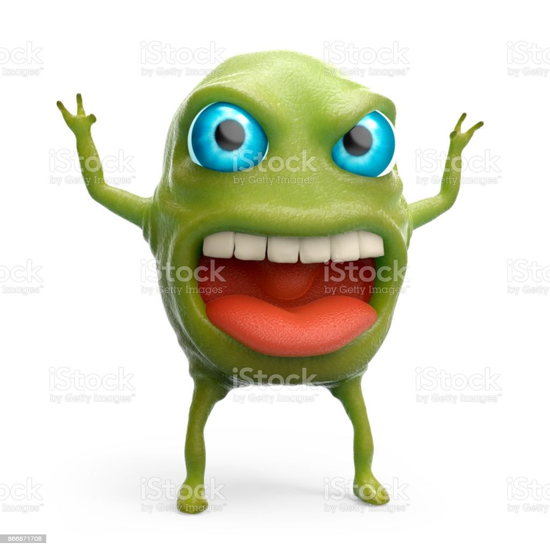 Snot Slime Monster Stock Photo istockphoto