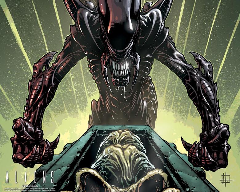 Aliens Desktops Dark Horse Comics