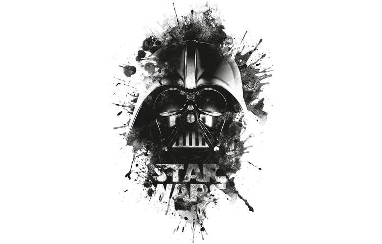 Wallpapers Darth Vader logo black goodfon