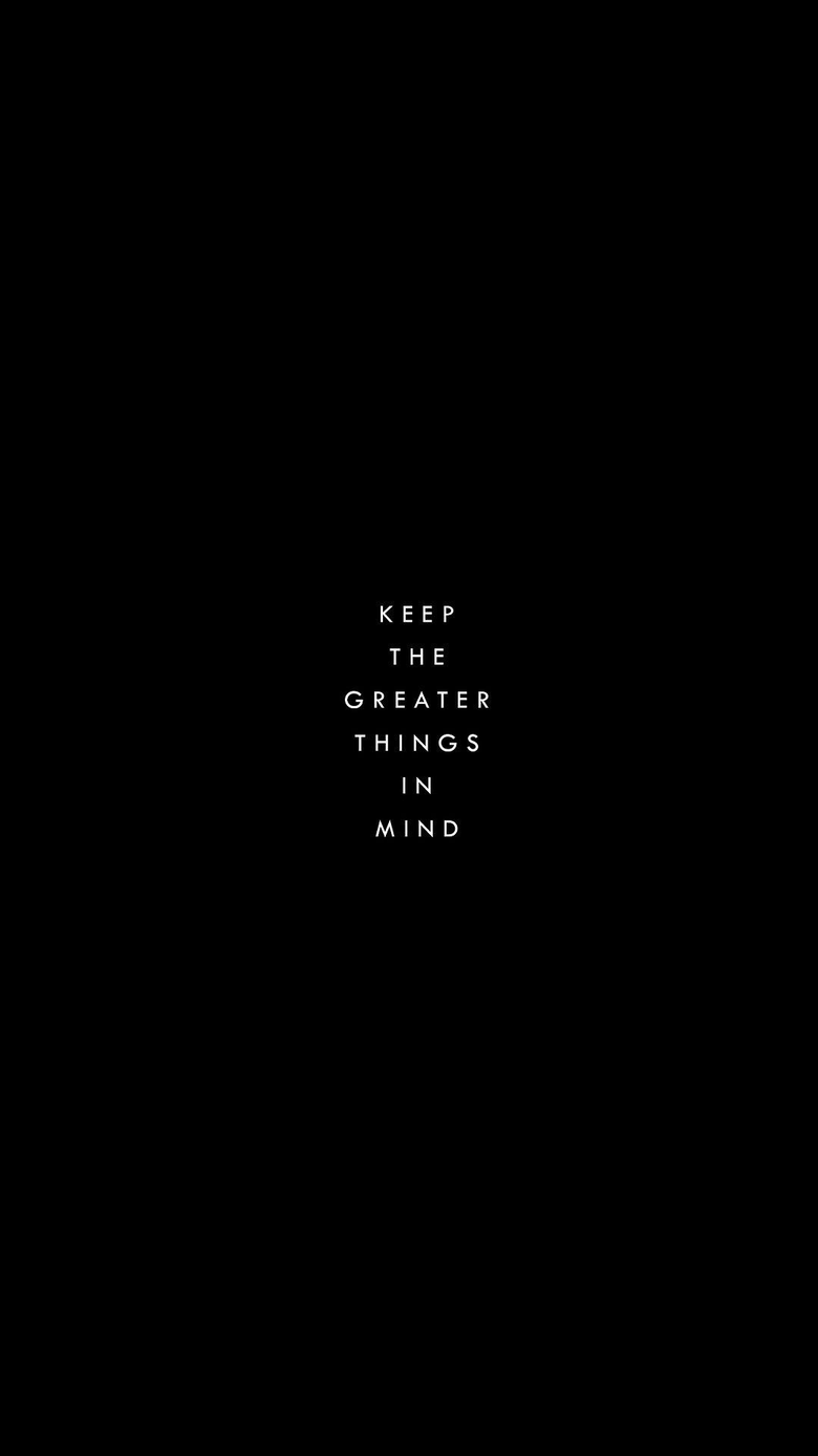 Black quotes wallpapers pinterest
