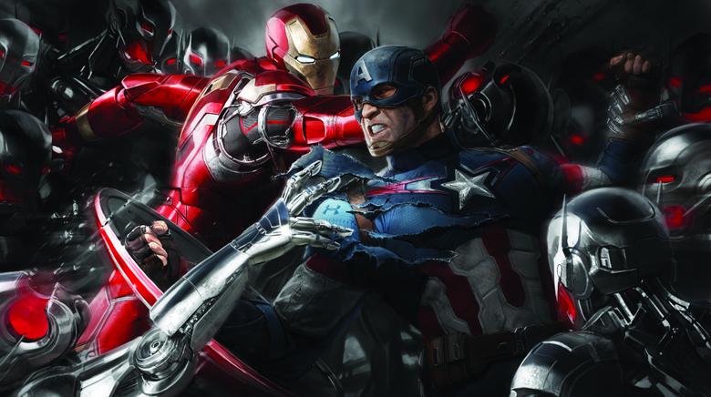 Wallpapers Iron Man Captain America Civil War Concept Art
