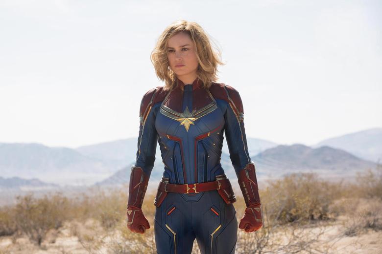 Wallpapers Brie Larson Captain Marvel Movie Marvel Desktop Picture