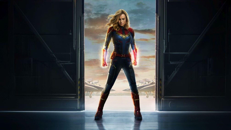 New CAPTAIN MARVEL Poster and a Bunch of Trailer Screenshots