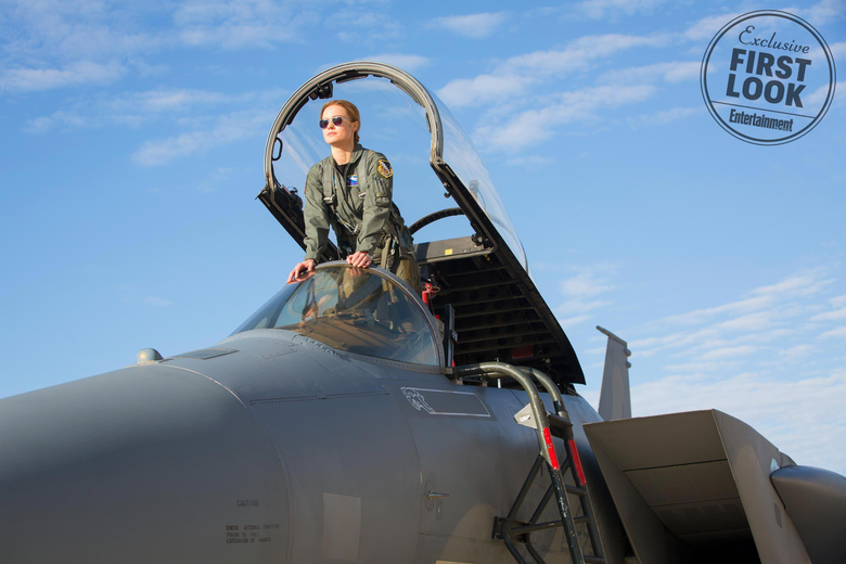 Marvel Cinematic Universe image First Look of Captain Marvel HD