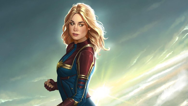 Captain Marvel New Artworks movies wallpapers hd