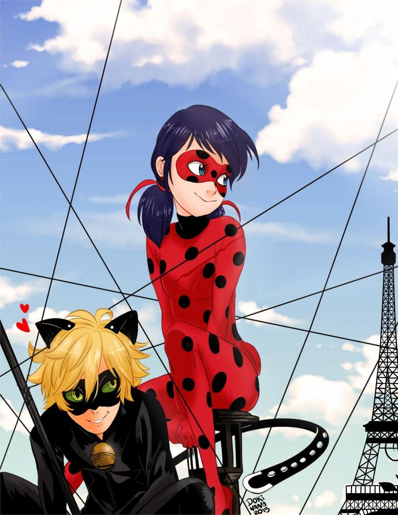 Miraculous Tales of Ladybug and Cat Noir FanArt Dokinana DOKINANA