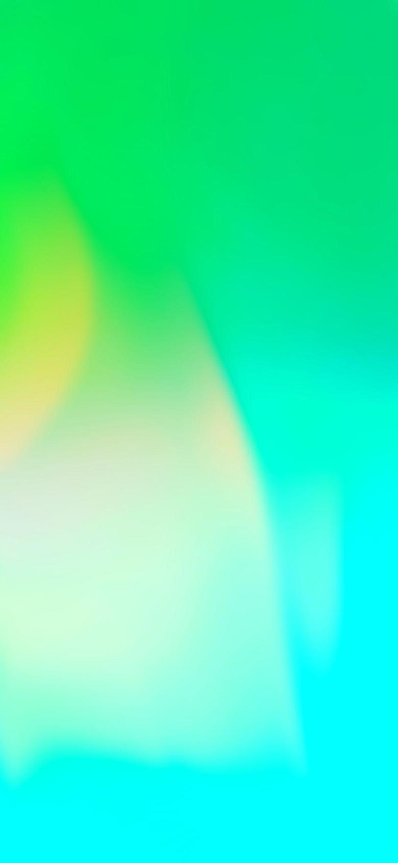 Ios 11 Iphone X Green Aqua Clean Simple Abstract