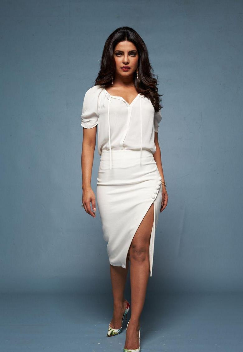 Priyanka Chopra At Baywatch Promotional Shoot