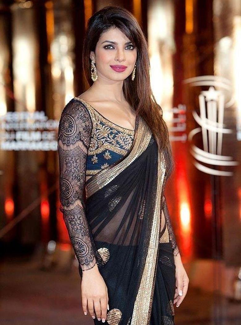 Blouse Designs From Priyanka Chopra That Give Us Major Fashion