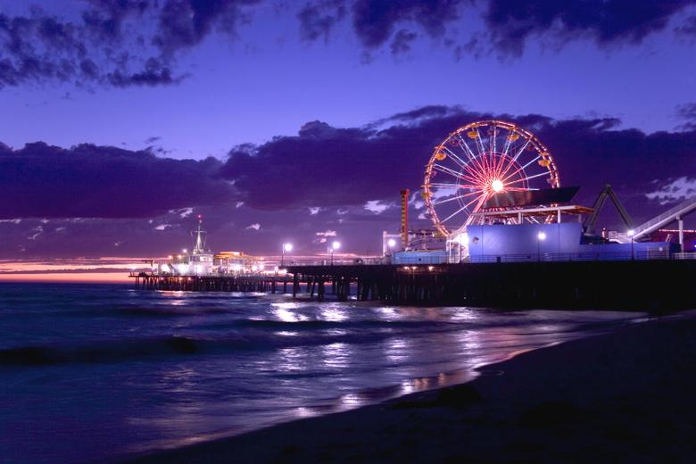 Santa Monica Pier Wallpapers Star ULTRA HD Textures
