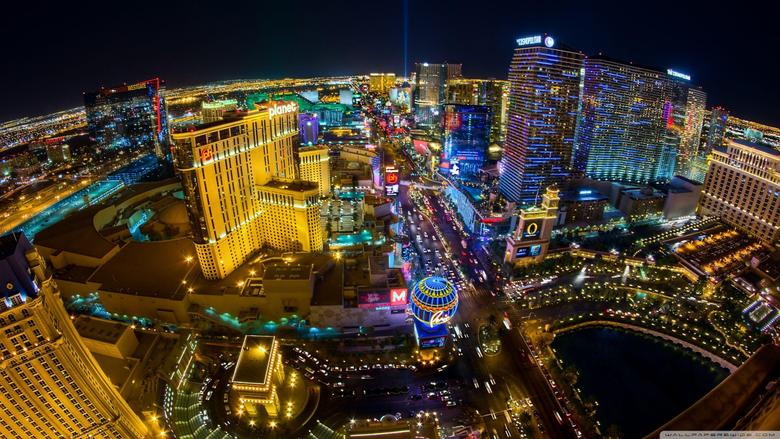 Las Vegas Aerial View HD desktop wallpapers Widescreen High