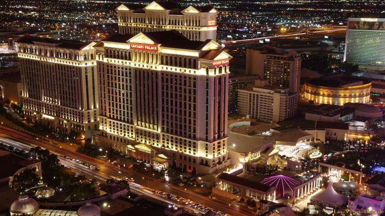 Las Vegas Strip Caesars Palace HD Wallpapers