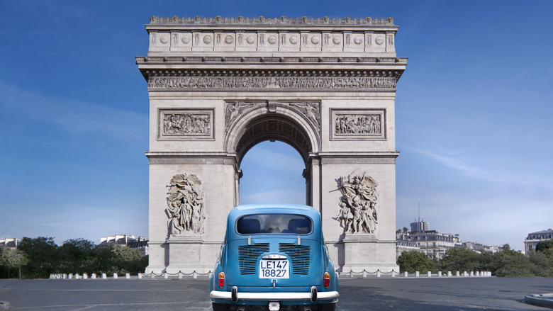 Wallpapers Paris France Arc de Triomphe monument travel tourism