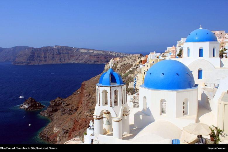 Santorini Greece Desktop Wallpapers from SeyeneCo Website