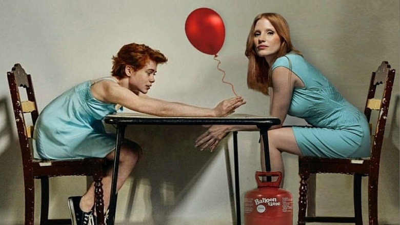 New IT CHAPTER 2 Photo Features Young Beverly Passing The Red