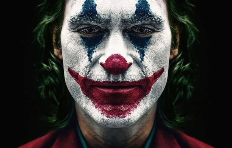 Wallpapers paint Joker Joaquin Phoenix Joaquin Phoenix