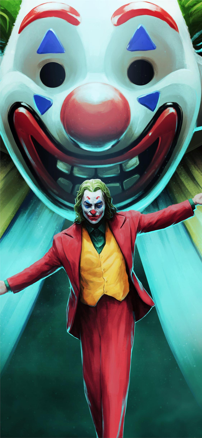 joker movie art iPhone X Wallpapers