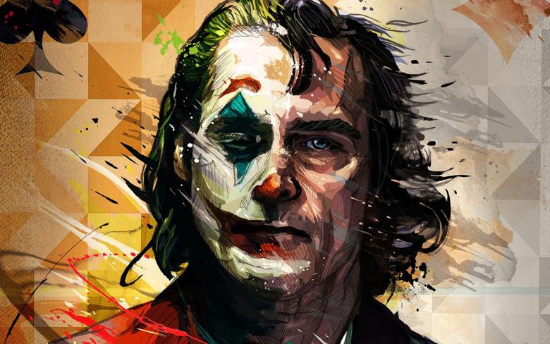 Wallpapers of Movie Art DC Comics Joaquin Phoenix Joker