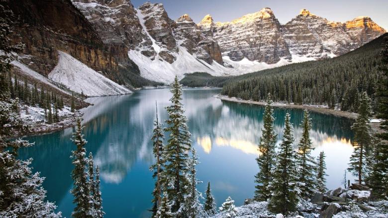 Alberta banff national park canada winter wallpapers