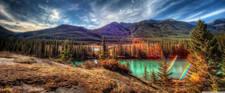 Banff National Park Alberta Canada 4K HD Desktop Wallpapers for