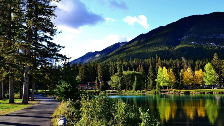Wallpapers 1920x1080 Canada Banff national park Nature