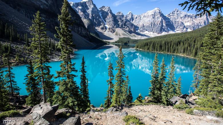 Moraine Lake Banff National Park Alberta Canada 4K HD Desktop