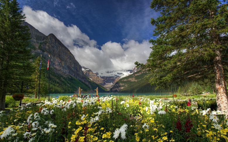 Lake louise banff national park wallpapers