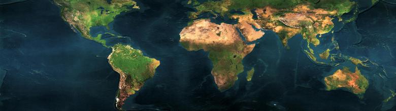 World Map Dual Screen Wallpapers