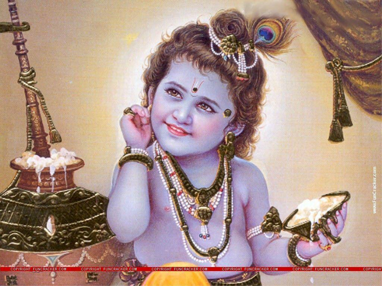 Wallpapers For Lord Baby Krishna Wallpapers