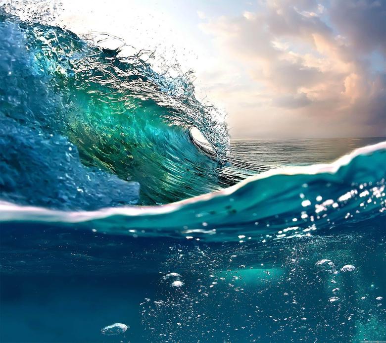 Sea Wave Stock 2160x1920 Samsung Galaxy S4 Wallpapers HD Samsung