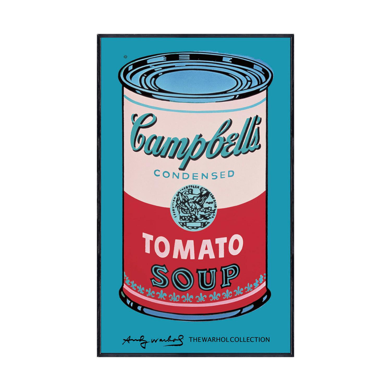 Campbell s Soup Can 1965 Pink Red