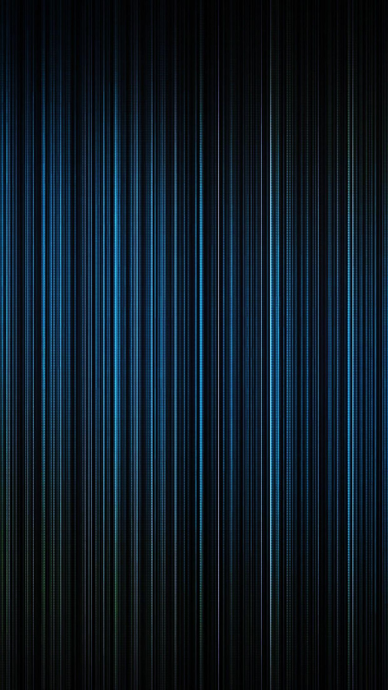 Blue Light Lines Straight Android Wallpapers