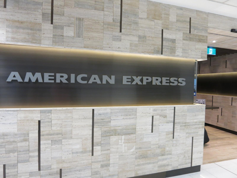 Review American Express Lounge Sydney