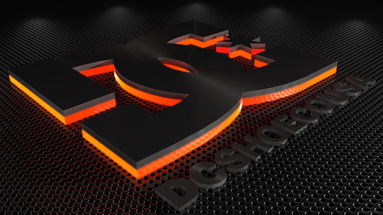 C4D DC shoes logo wallpapers by xCustomGraphix