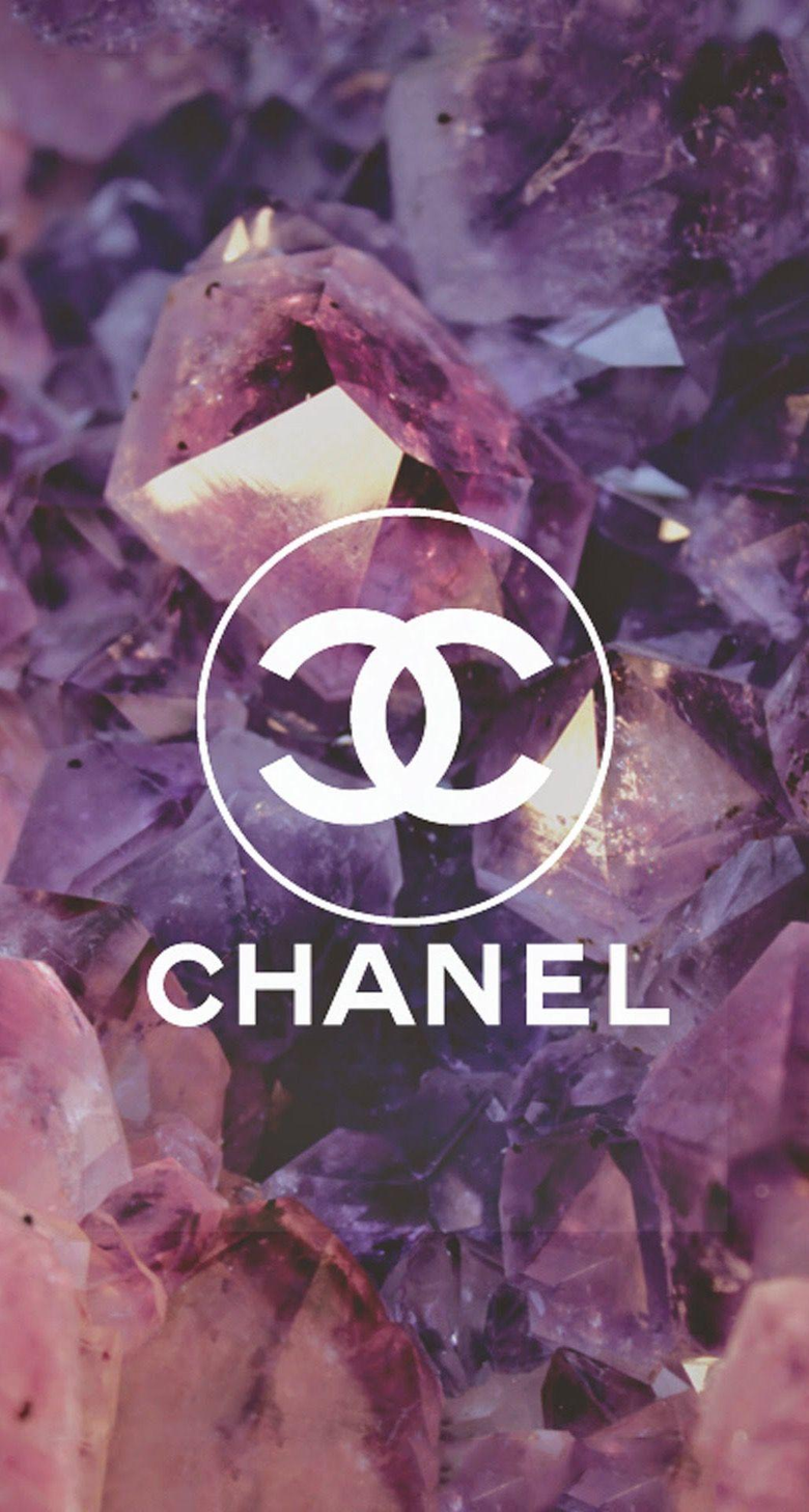 Coco Chanel Logo Diamonds iPhone 6 Plus HD Wallpapers iPod