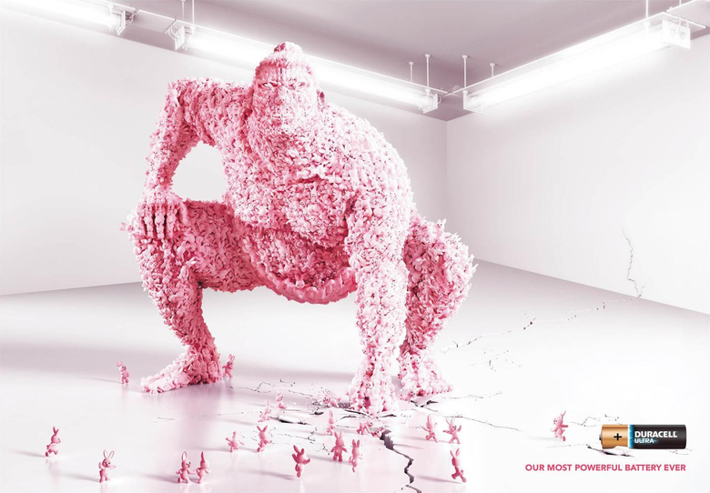 Duracell Print Advert By Ogilvy Sumo