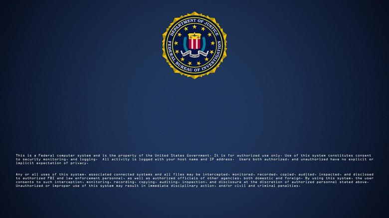 Logos For Fbi Logon Screen Wallpapers