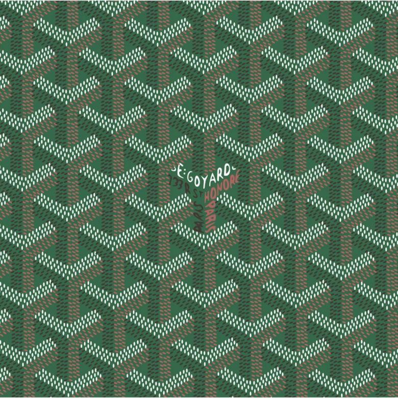 Green Goyard Pattern
