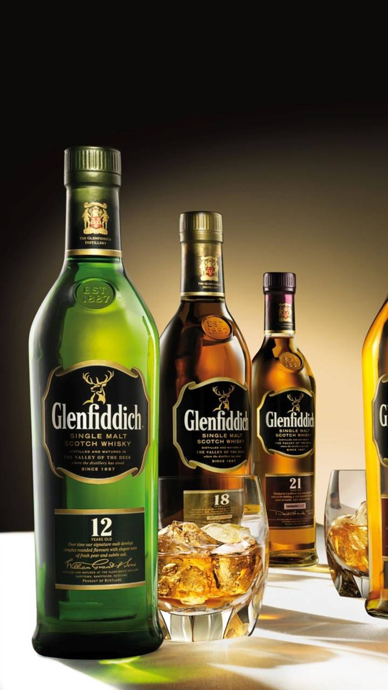 Glenfiddich Scotch Wallpapers by DLJunkie