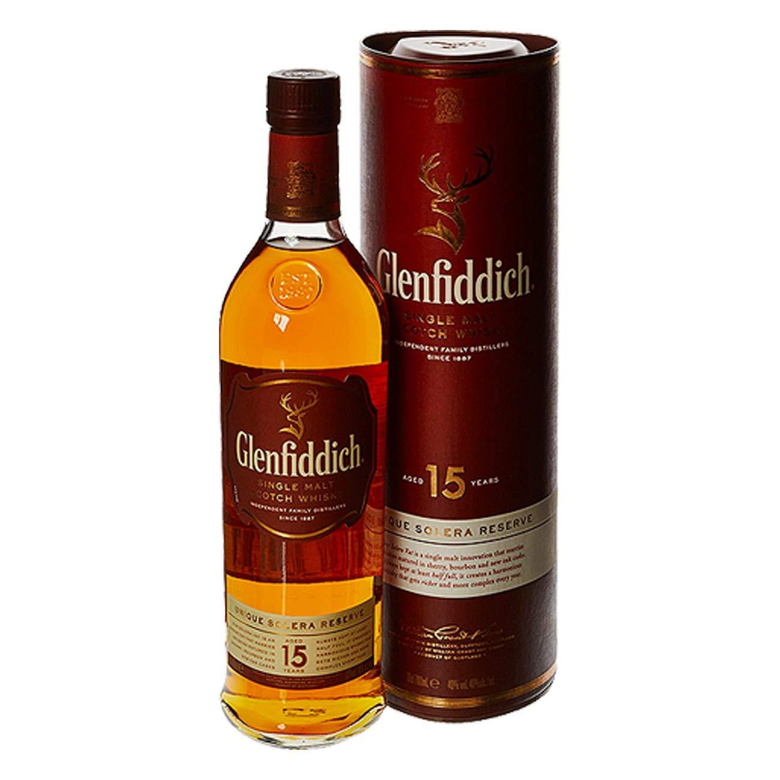 Glenfiddich 15 Year Old Scotch Whisky 70 cl Amazon co uk Grocery
