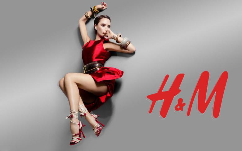 Victoria Beckham for H M Adverts